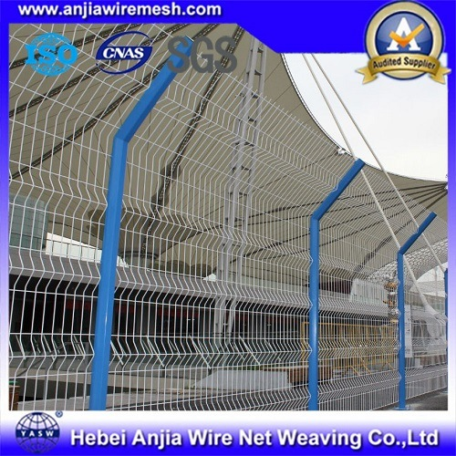 PVC Coated Security Electro Welded Wire Mesh Fence