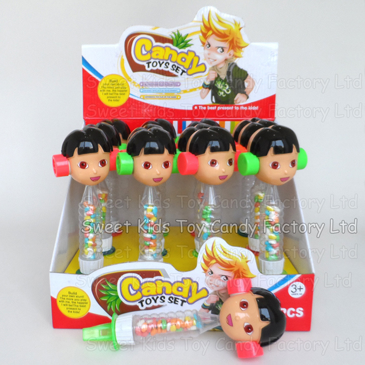 Giggle Girl Whistle Toy with Candy (131102)