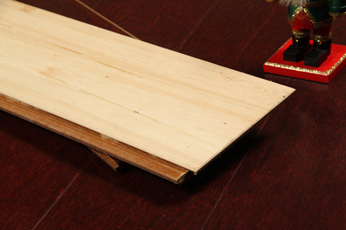 Cherry Strand Woven HDF Bamboo Flooring