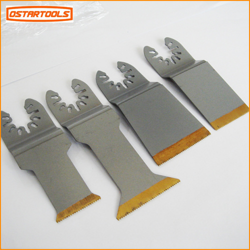 "Bi-Metal Titanium Coated Multi Function Oscillating Saw Blade for Metal Cutting (44mm/ 1-3/4"")"