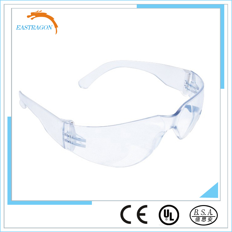 CE En166 and ANSI Z87.1 Safety Glasses Scratch Fog