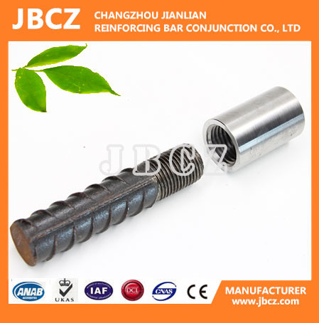 Ce Approved Parallel Thread Steel Rebar Coupler Connector