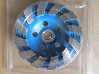 "4""Sintered Continuous Turbo Diamond Abrasive Tool"