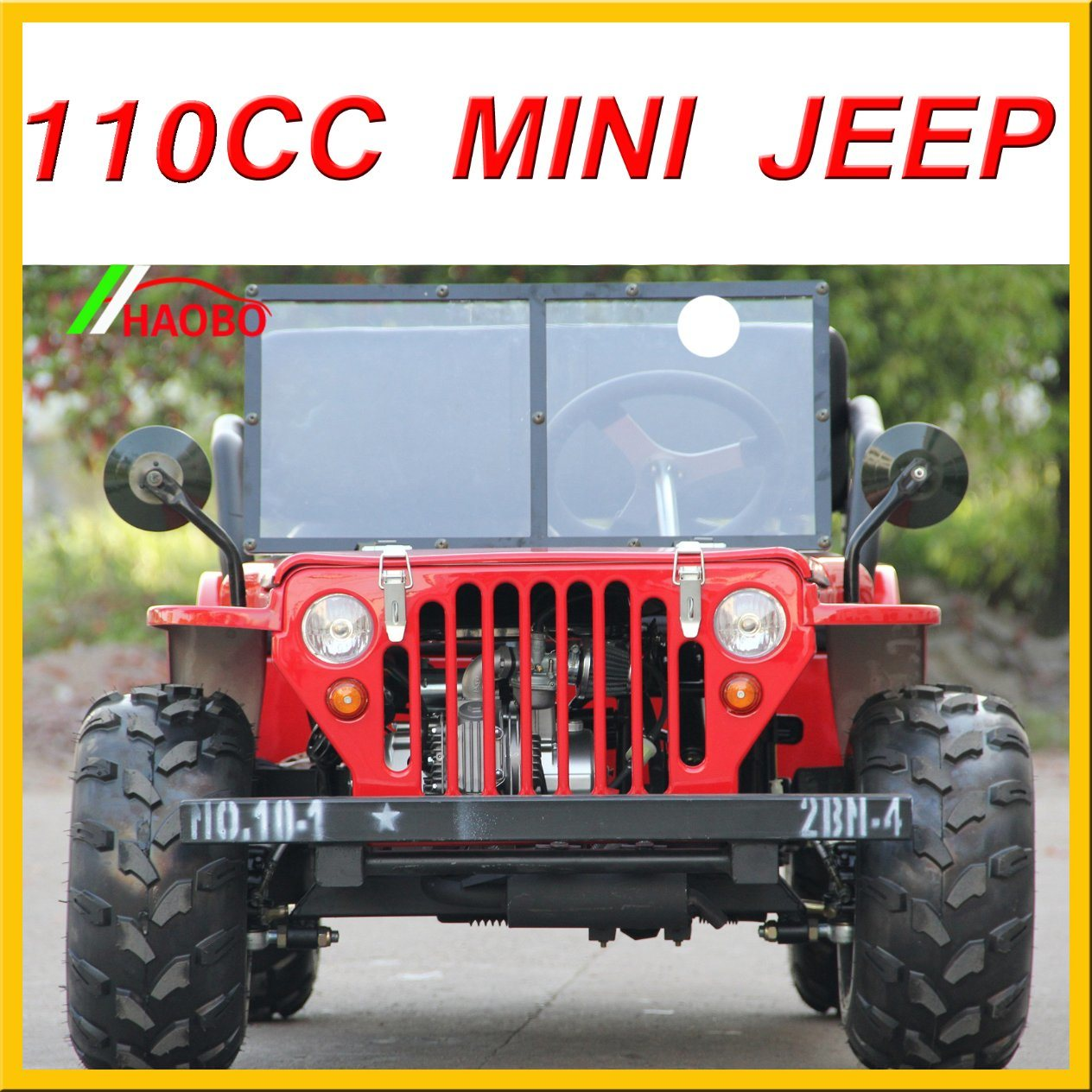 110cc 125cc 150cc Hot Selling Mini Jeep Willys for Child