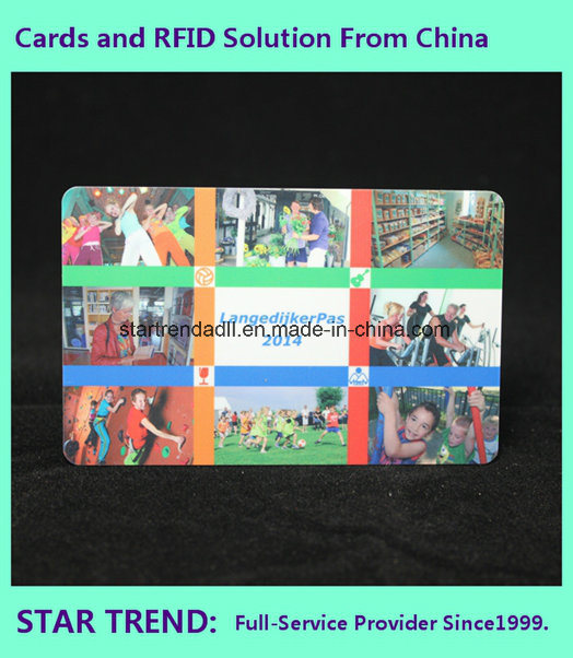 SPA Member Card Made of PVC with Magnetic Stripe (ISO 7811)