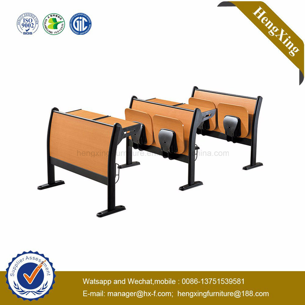 Foshan Manufacture Student Desk and Chair with School Furniture (HX-5D202)