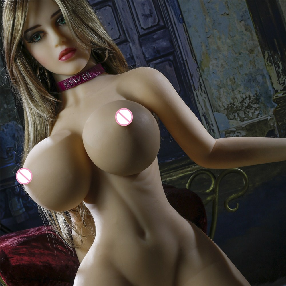 153cm Realistic Silicone Big Breast Ass Skinny Waist Sex Doll