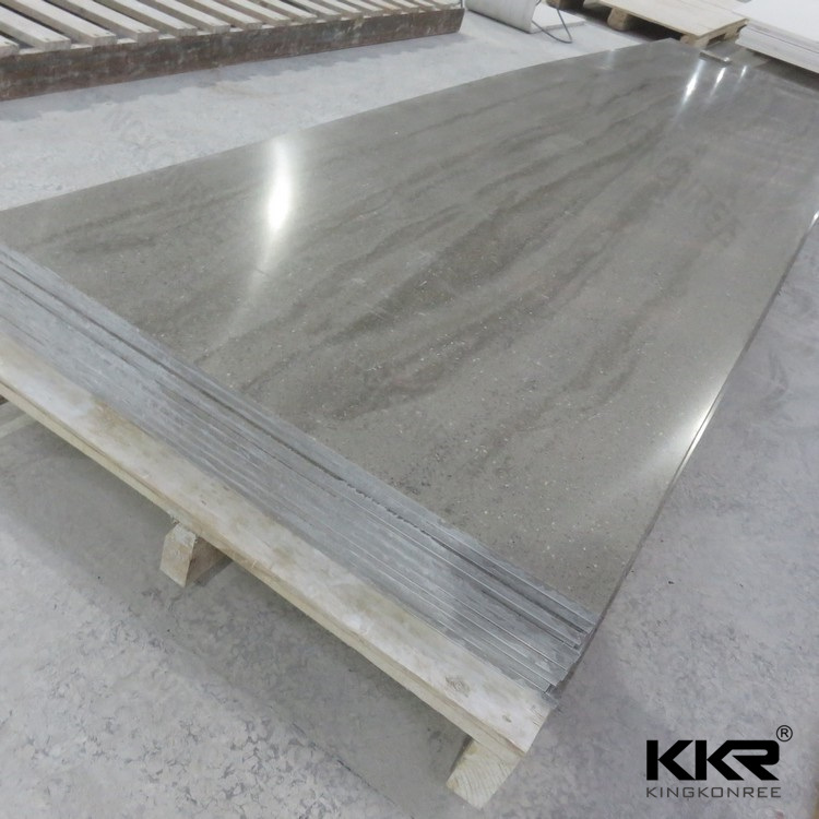 6mm Acrylic Stone Solid Surface Shower Wall Panel (M1704271)