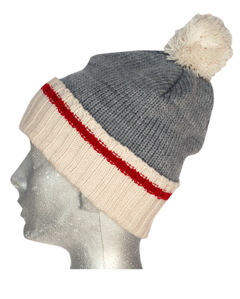 Winter Hat Acrylic Jacquard Beanie Hat Custom Knit Hat POM POM Knitted Beanie Hat