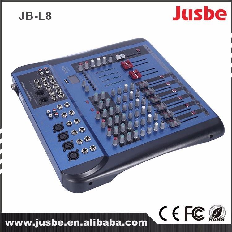 Jb-L16 16 Channel with 48V Phantom Power Supply Audio Mixer