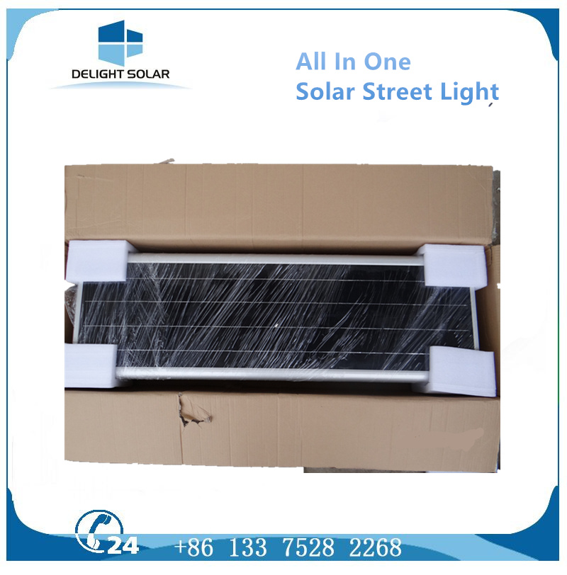 30W Waterproof IP65 Lithium Battery Integrated All in One LED Solar Street Light