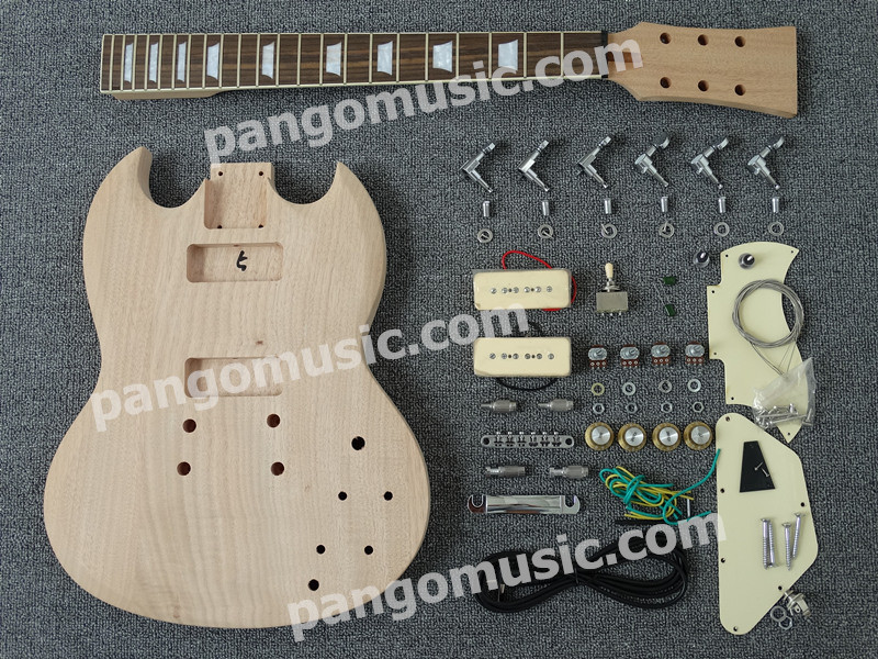 Pango Sg Style DIY Electric Guitar Kit / DIY Guitar (PSG-526K)