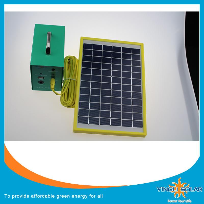 2PCS Solar Light Kits, Solar LED Lantern with 5m Cable, Yingli Brand