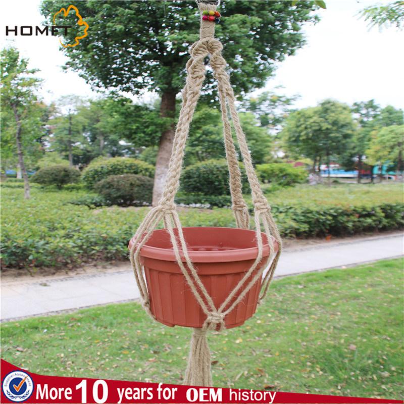 Hemp Deco Home Plant Pot Holder