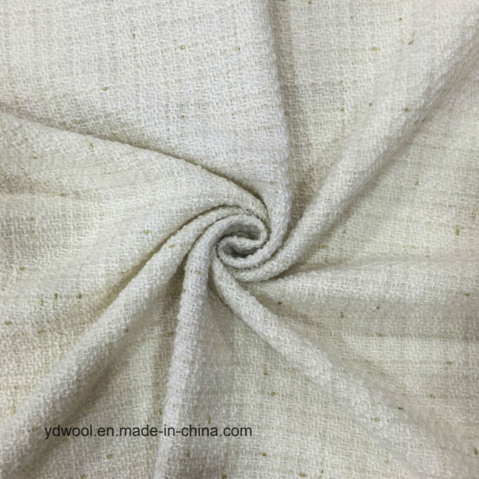 Light Kont Style Wool Fabric Stock
