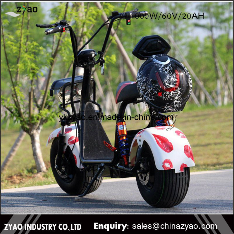 Mag Cool 1000W Motor 80km The Most Fashionable Citycoco 2 Wheel Electric Scooter, Adult Electric Motorcycle
