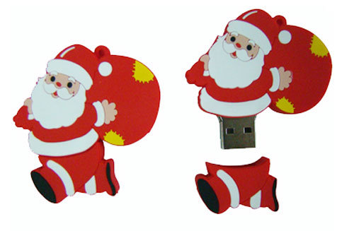 Custom Shape USB Flash Drive PVC USB2.0 USB3.0 Promotional Gift