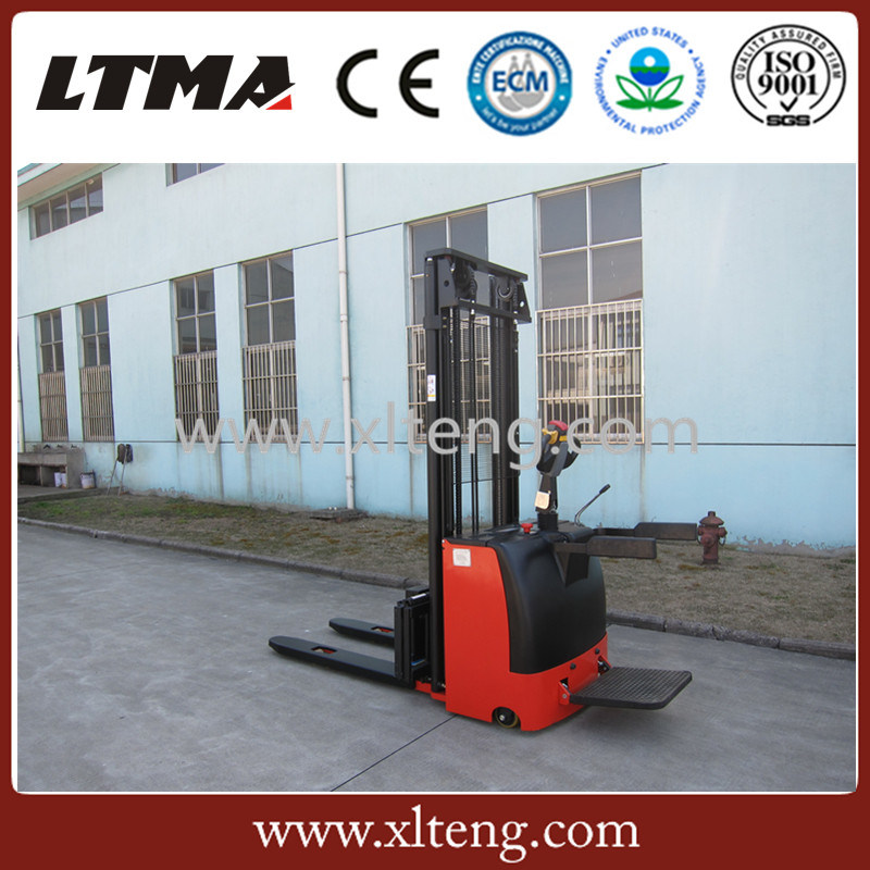 China Wholesale Stacker 1.5 Ton Walkie Full Electric Pallet Stacker