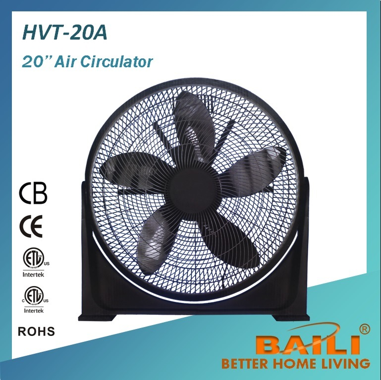 20′′ Box Fan and Turbo Fan With100% Copper Motor