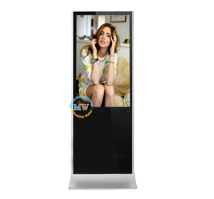 55 Inch Info Information Interactive Advertising LCD Touch Screen Kiosk
