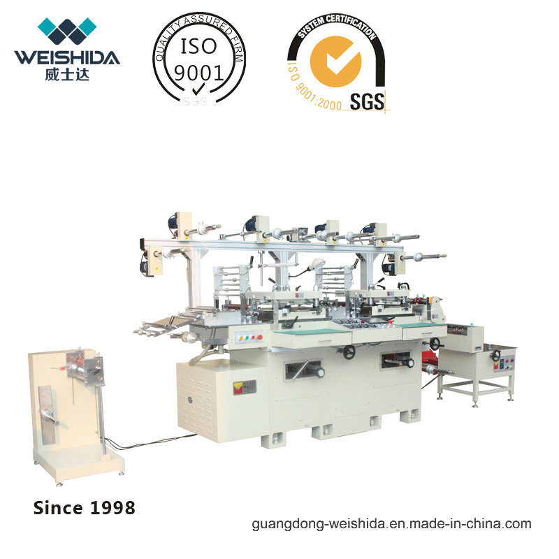 New Automatic Two Seater Die Cutting Machine with High Speed
