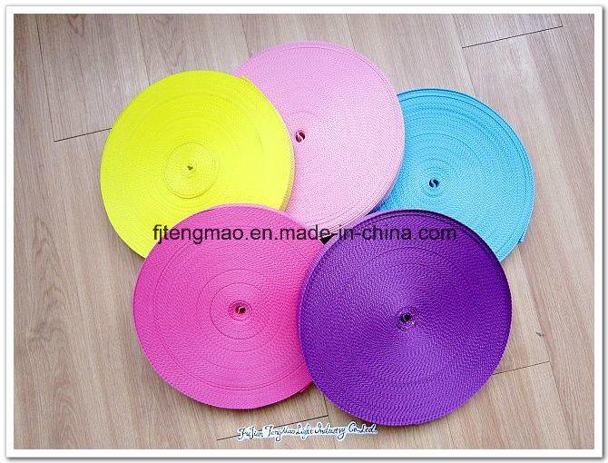450d Color Polypropylene Webbing for Textile