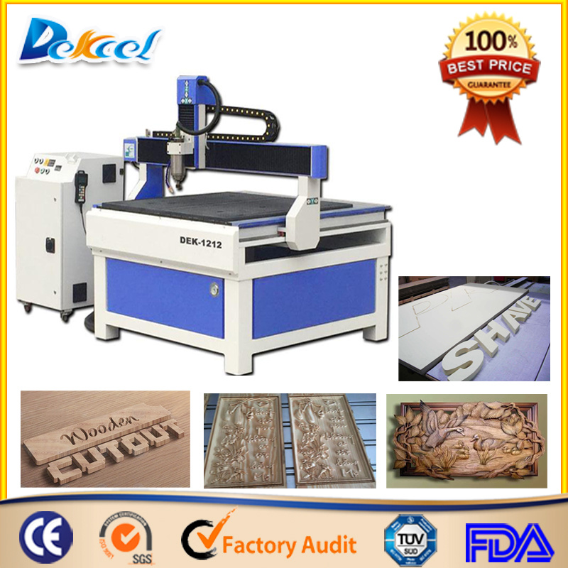 1212 CNC Wood Router Engraving Woodworking Machine for Advertising Sale