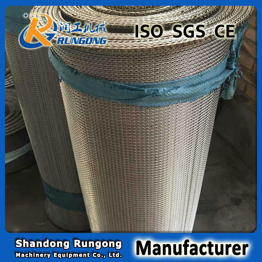 304 Compound Balanced Weave Wire Mesh Belt