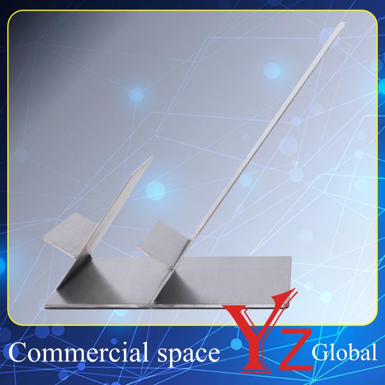Wallet Display Stand (YZ161516) Wallet Display Rack Stainless Steel Wallet Rack Wallet Holder