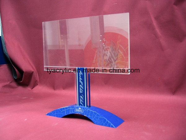 Customize Ad-164 Clear Watch Acrylic POS Display Stand