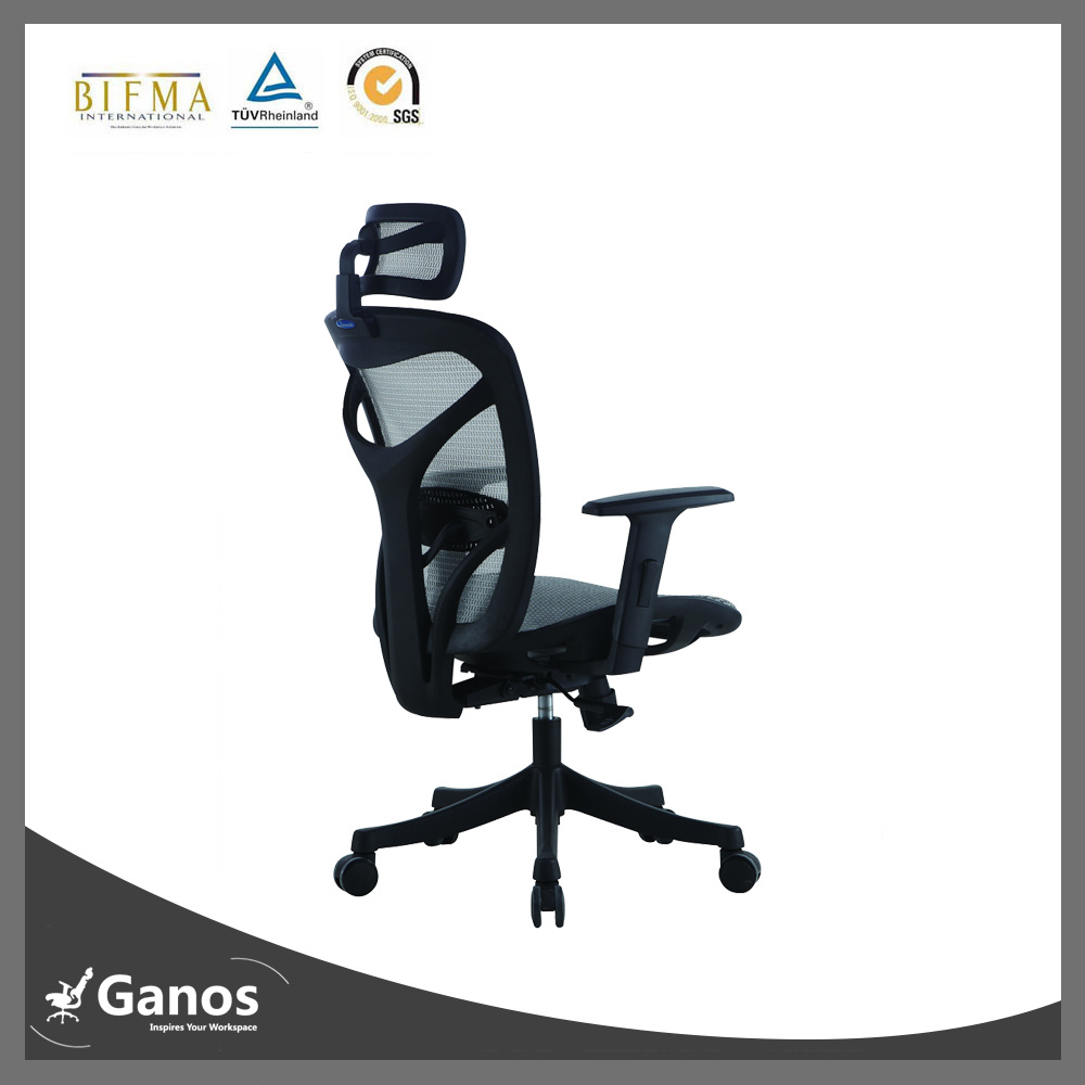 No Smell Healthy New Nylon Plastic Office Chair (Jns-601)