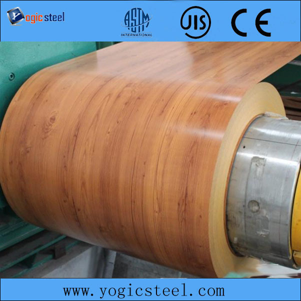 Wooden Pre Painted PPGI/PPGL Steel Coil