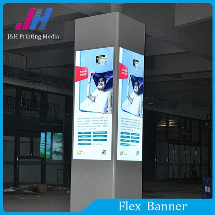 PVC Backlit Flex Banner of Raw Materials