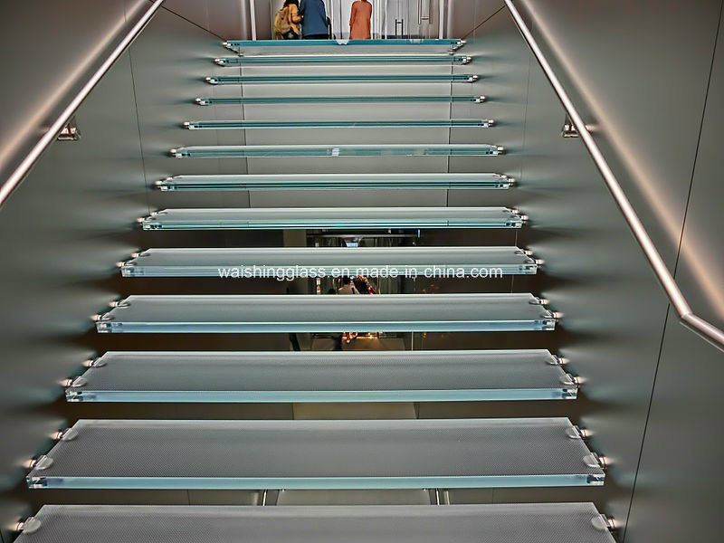 5mm Low Iron Laminated Glass for Stairs