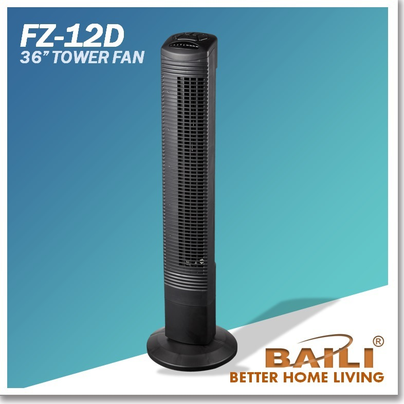 36 Inch Electric Tower Fan with Remote