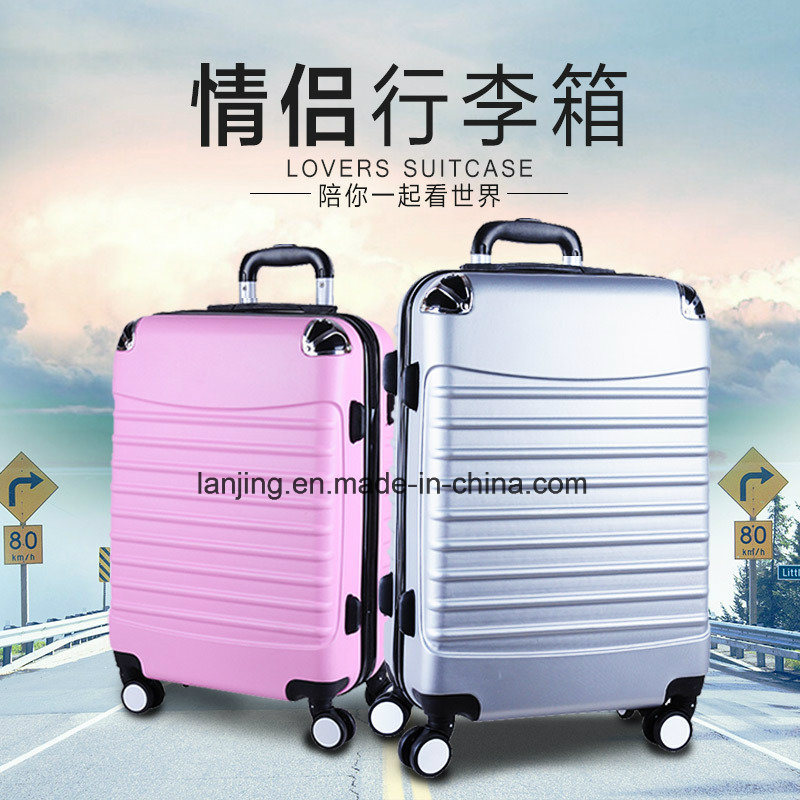 Bw1-044 ABS+Film/PC Luggage Bag Suitcase New Design Travel Trolley Luggage