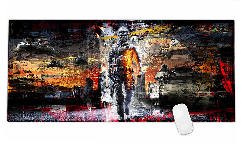 Extended Gaming Wide Large Mouse Pad Mat Big Size Desk Mat 900*400*3mm
