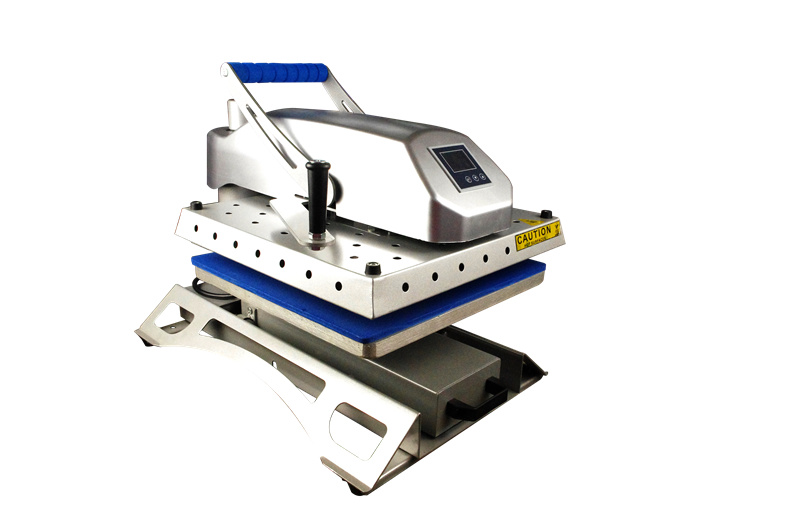 Convenient Draw out Swing Away Heat Press