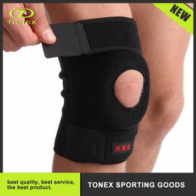 Fitness 5mm Stabile Breathable Neoprene Compression Magic Tape Knee Brace