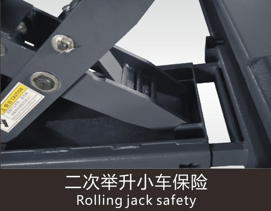 Jf High Quality Four Post Design and Ce Certification Hydraulic Car Lift