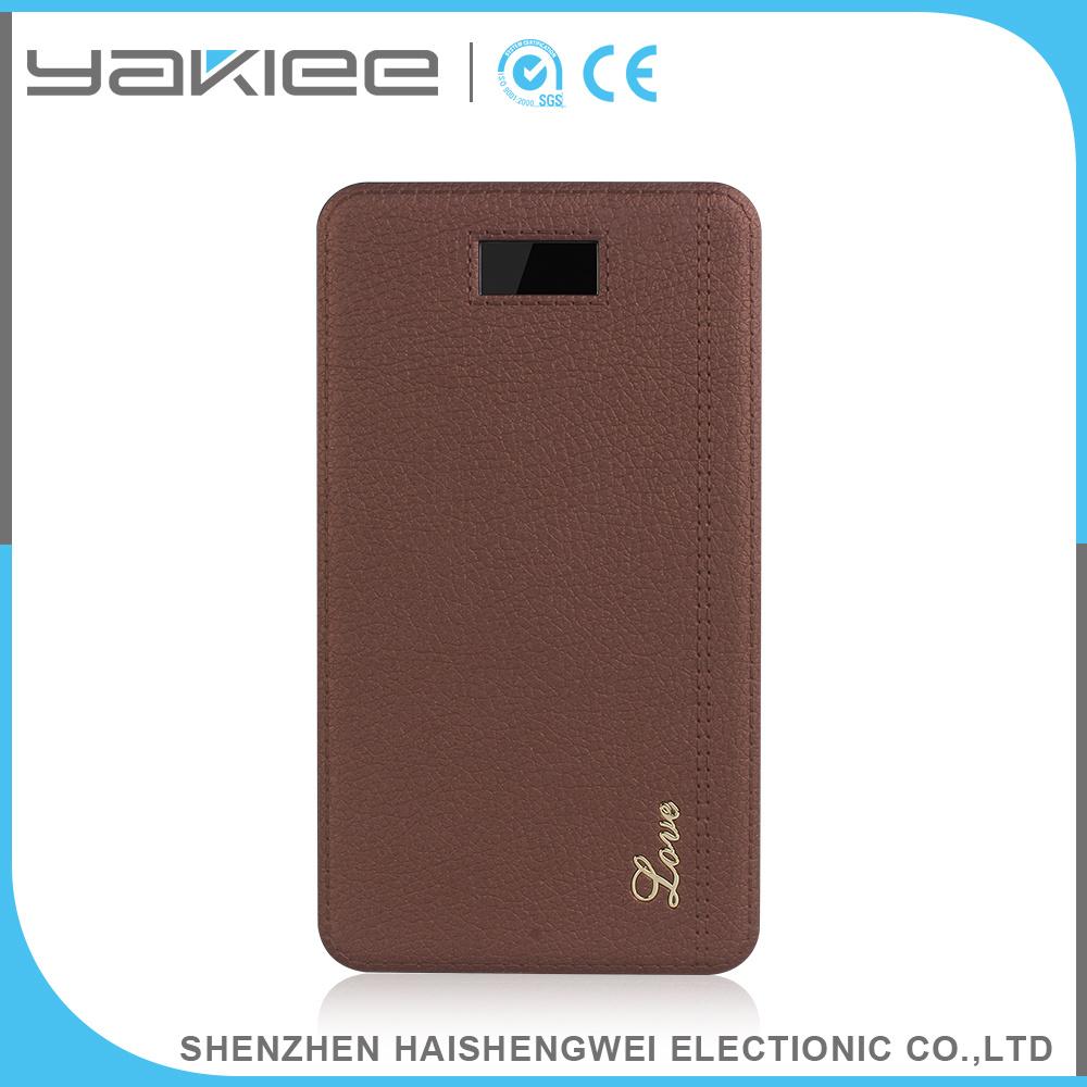 Li-Polymer 8000mAh Portable Mobile Power Bank
