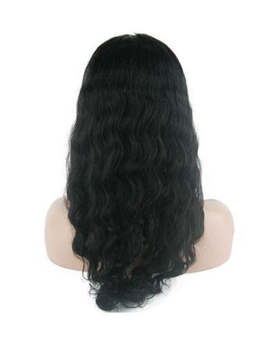 "8""-26"" Brazilian Virgin Hair Deep Wave Lace Front Wig"