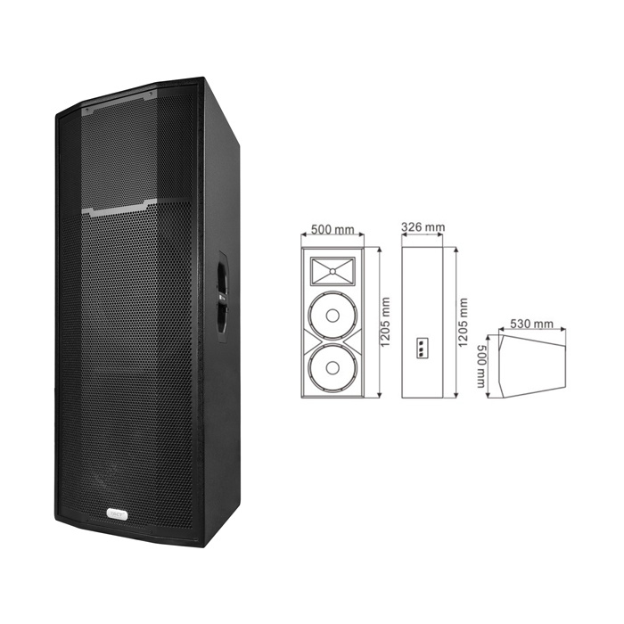 Dual 15′′ EV25 Sound System - Tact
