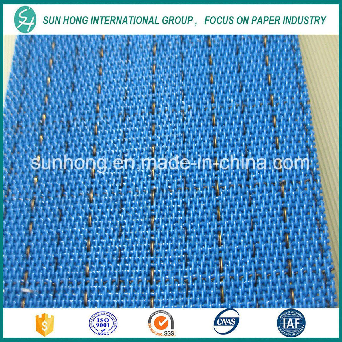 Spiral Dryer Mesh Fabric Conveyor Belt Making Machine