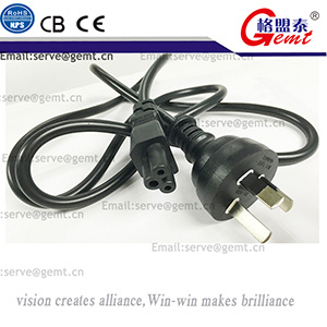 New Arrival Au Extension Cord Standard Power Plug Used for Australia 1.2meter