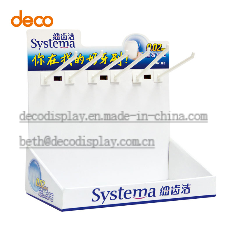 Paper Counter Top Display Cardboard Counter Display Box for POS