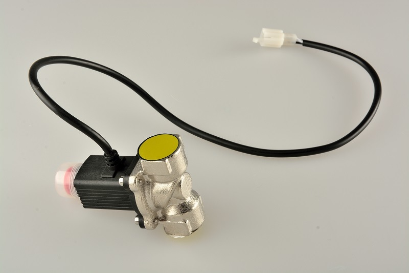 LPG Gas Leaking Detector with Solenoid Valve for Gas Company