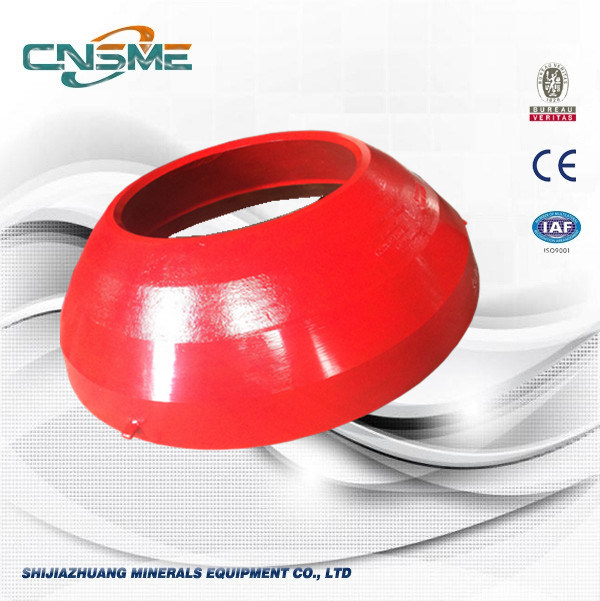 Concave and Mantle Cone Crusher Spare Parts for Mining
