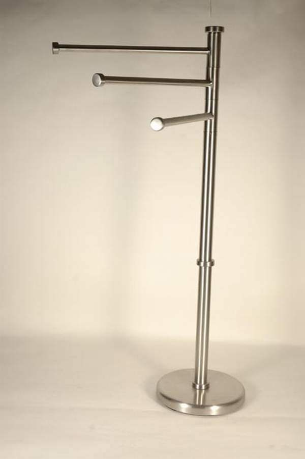 China towel holder stand 99551 china bathroom for Bathroom accessories stand