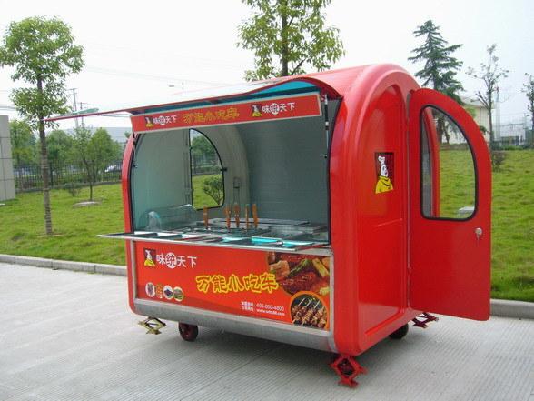 China Food Cart MY BF165 Equipment Vending